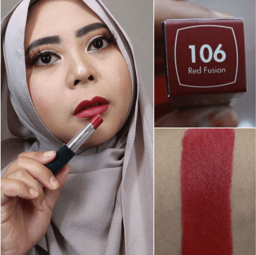 Pixy Matte in Love shade Red Fusion
