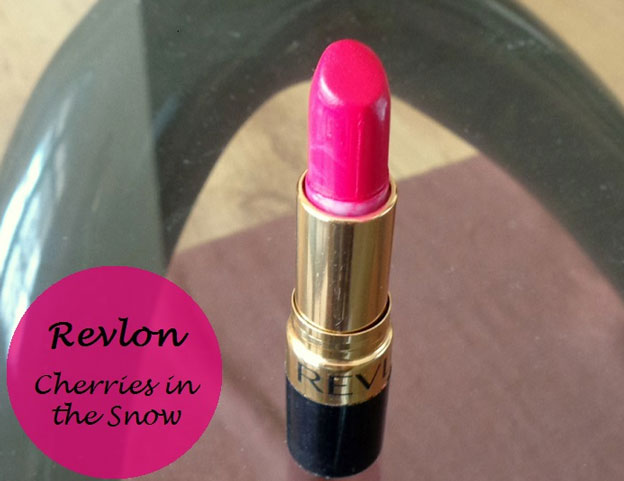 Revlon Super Lustrous Lipstick, shade Cherry in Snow