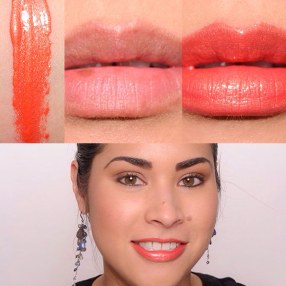 Revlon Ulta HD Lip Lacquer, shade HD Sunstone