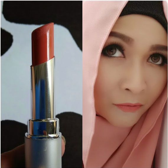 Wardah Longlasting Lipstick 03 Simply Brown