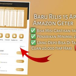 Amazon Geter Penghasil Uang